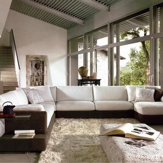 Hokku Designs Baxton Sectional Kui1755 Modern Sofas By The Furniture