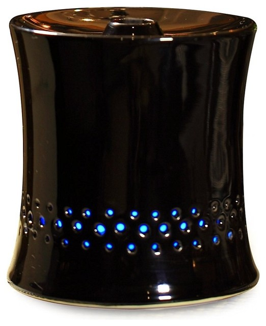 Ultrasonic Aroma Diffuser/humidifier With Ceramic Housing - Black.