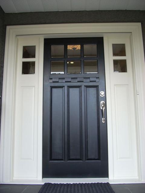 Front Door Close Up Traditional Front Doors
