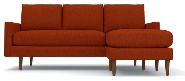 Outstanding Scott Reversible Chaise Sofa Pumpkin Bralicious Painted Fabric Chair Ideas Braliciousco