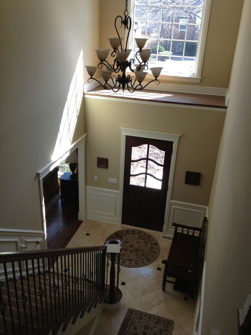 Two Story Foyer Or Not : Paint design help for story foyer