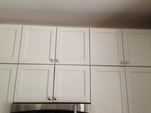 ikea gap with stacked cabinets. Black Bedroom Furniture Sets. Home Design Ideas