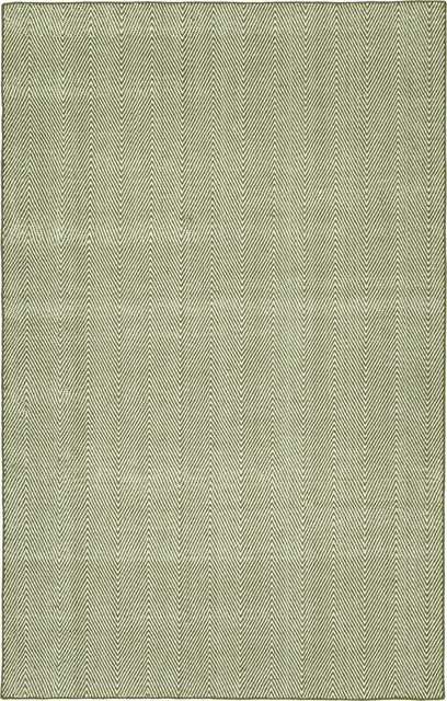 Kaleen Ziggy Zig01-04 Handmade Rug, Olive, 8&x27;x10&x27;.