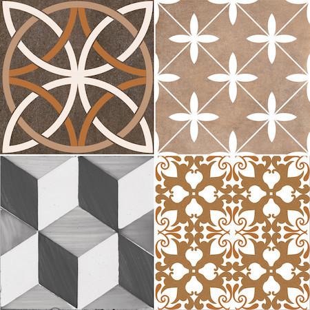 Hamilton Warm Tiles, Set of 5
