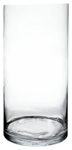 Mvg Tall Cylinder Vase 20x10 Contemporary Vases By Modern