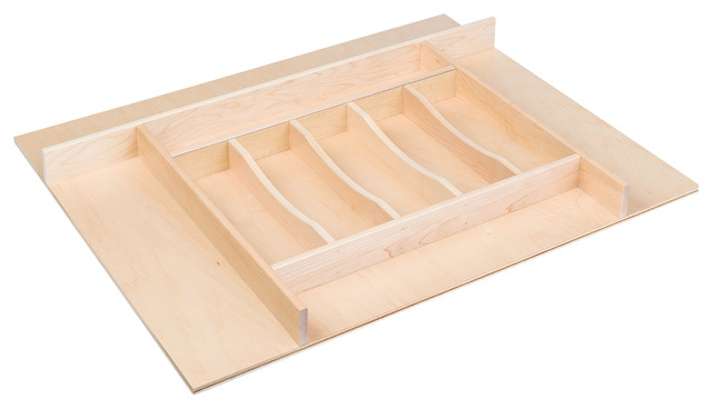 """Century Components Trimmable Silverware Tray Insert, 26-7/8""""x22""""."""