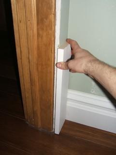 Sheetrock Causing Problem With Door Trim