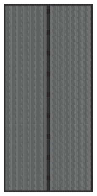 Wonderful Magnetic Screen Door With Heavy Duty Magnets U0026 Mesh Curtain By Everyday Home