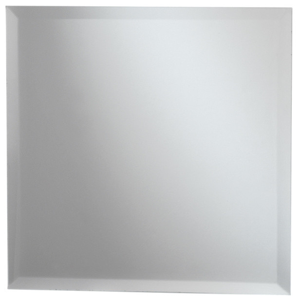 Square Bevel Mirror 12x12