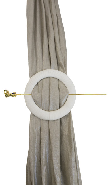 La Palais Royale Tie Back Modern Curtains By Orchids America