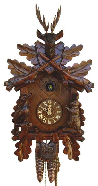 Black Forest House Cuckoo Clock Contemporary Cuckoo Clocks By Shopladder