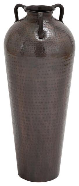 "Dixon Metal Flower Vase, 32"""