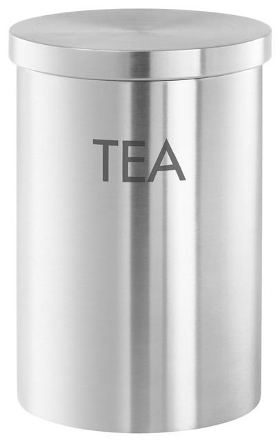 Modern Kitchen Jars cera tea canister - modern - kitchen canisters and jars -zack