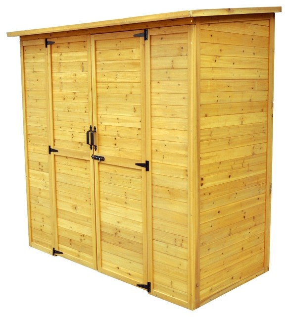 Austin Extra Large Wooden Storage Shed.