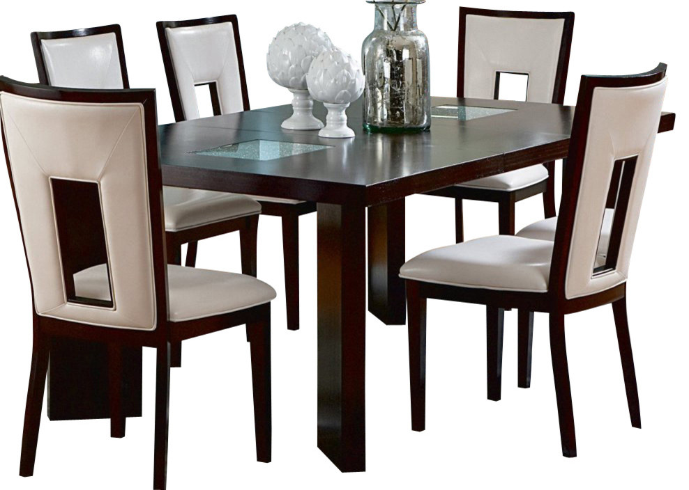 Steve Silver Delano 60x44 Dining Table - Contemporary - Dining Tables - by Veloxmart LLC
