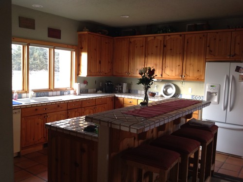 Superieur Keeping My Knotty Pine Cabinets