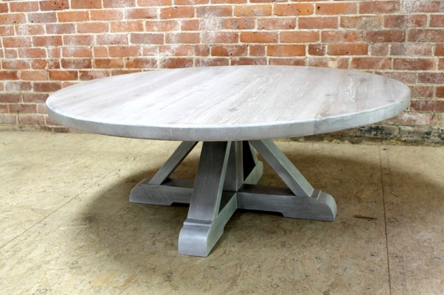 White Wash Oak Coffee Table - White washed oak coffee table