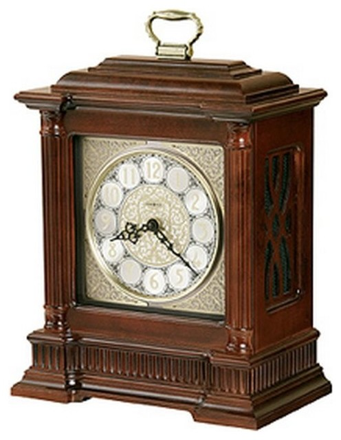 Howard Miller Akron Mantel Clock Traditional Desk And