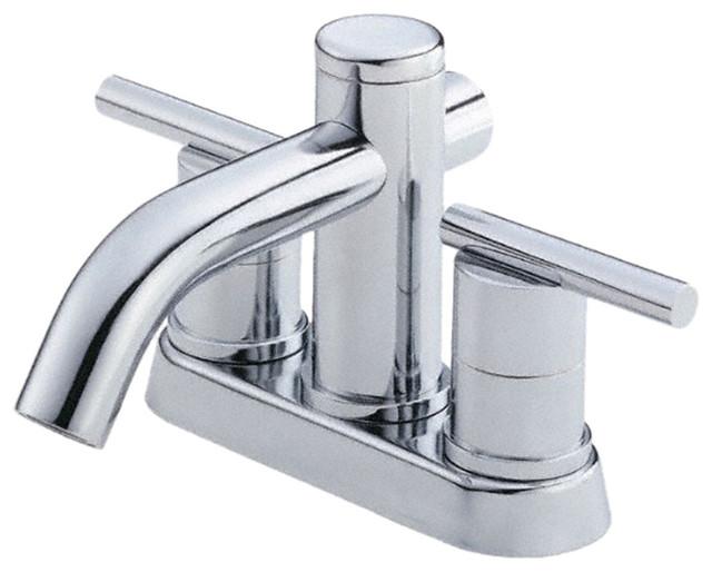 Danze D301058 Chrome 4  Centerset Faucet Two Handle modern bathroom faucets  and. Danze D301058 Chrome 4  Centerset Faucet Two Handle   Modern