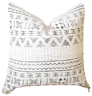 Wondrous African Mudcloth Pillow Cover Scandinavian Decorative Pillows By Ebb And Thread Dailytribune Chair Design For Home Dailytribuneorg