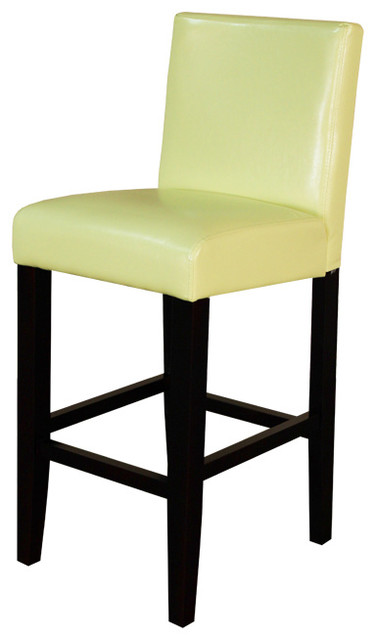 Villa Faux Leather Blue Counter Stool Set Of 2