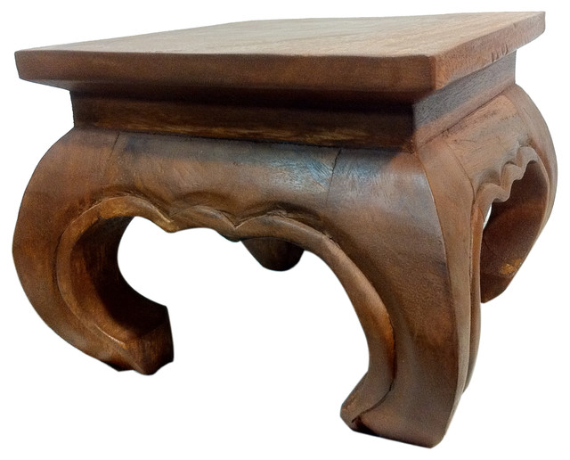 Solid Wood Opium Table, 14 X 14
