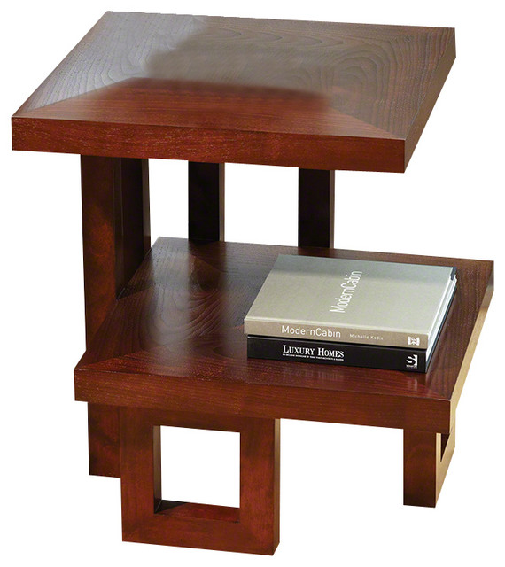 Global Views Step Up Table Contemporary Side Tables And End