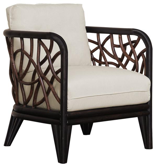 Panama Jack Trinidad Lounge Chair With Cushions Tropical