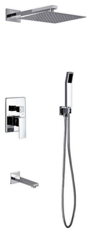 What is the distance of the shower head from the wall after mounting.