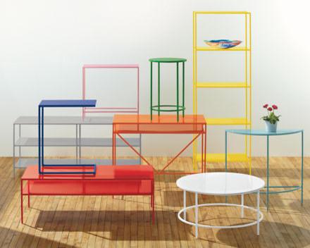 Slim Desks in Colors