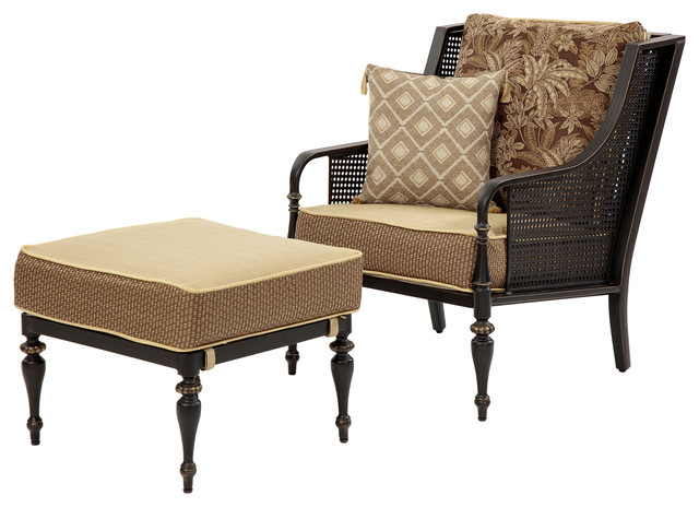 sherborne palmetto chair and ottoman set