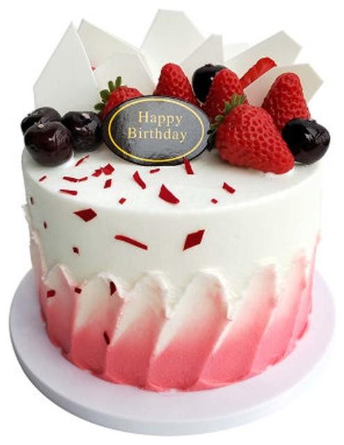 Pleasing Blancho Bedding Simulation Strawberry Fruit Cake Birthday Cake Personalised Birthday Cards Veneteletsinfo