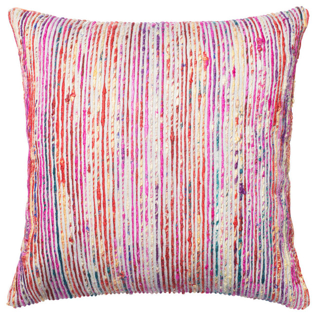 Loloi Inc. Pillow, Blue and Multi, - Contemporary - Decorative Pillows - by Loloi Inc.