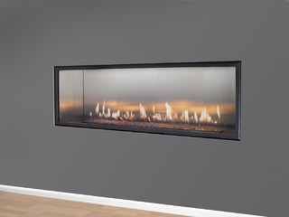 Halcyon Linear Direct Vent Fireplace