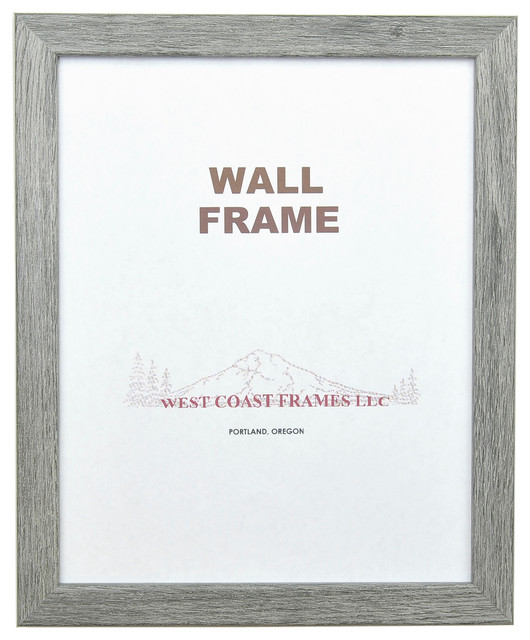 Grey Barnwood Frame, 5x7 - Transitional - Picture Frames - by West ...