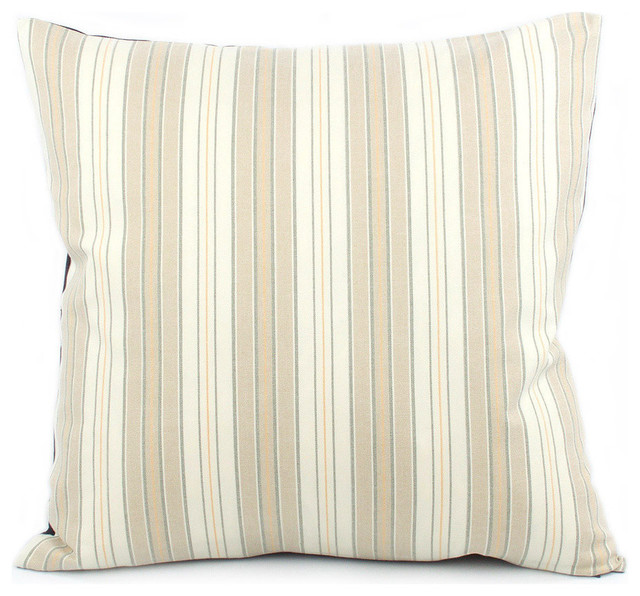 Urban Pinstripe Throw Pillow - Decorative Pillows - by Chloe and Olive LLC