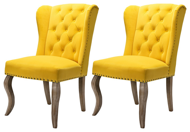 Larson Accent Chairs Set Of 2 Traditional Armchairs