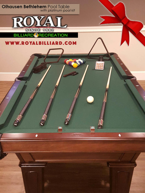An Awesome Olhausen Billiards Bethlehem Pool Table Install With A Platinum  Pool Kit. Come Find Entertainment And Recreation For All To Enjoy At Royal .