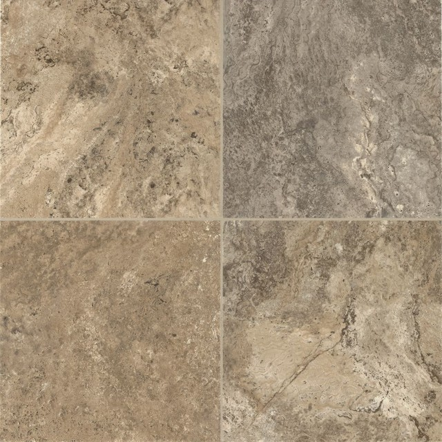 Classico Travertine Luxury Vinyl Contemporary Vinyl