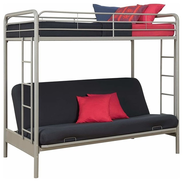 Twin Over Futon Convertible Couch And