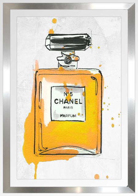 """chanel Parfum 5"" Framed Plexiglass Wall Art By Jodi."