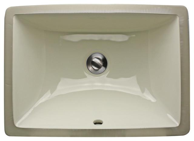 Styrso Undermount Ceramic Sink Bisque 18
