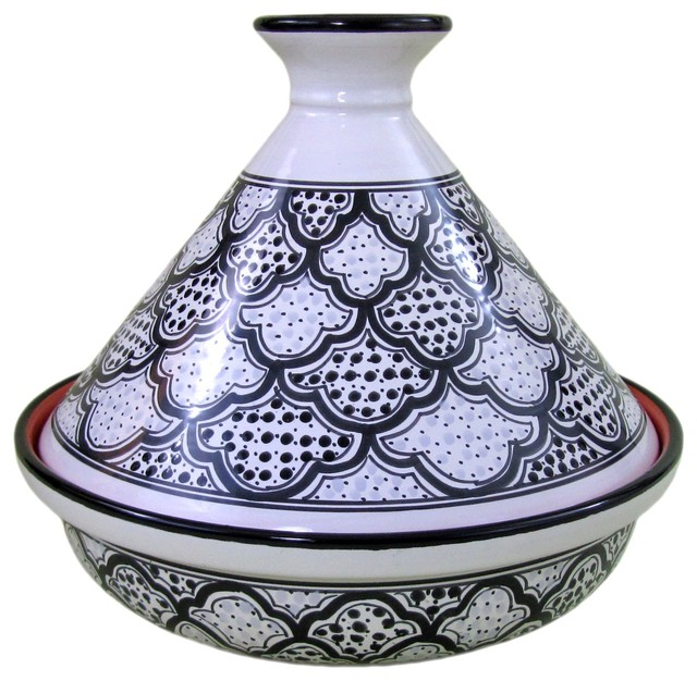 Le Souk Ceramique Cookable 12 Tagine Contemporary Specialty Cookware By