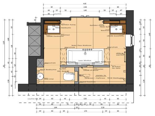 Neues Badezimmer - Tipps für Anordnung & Planung