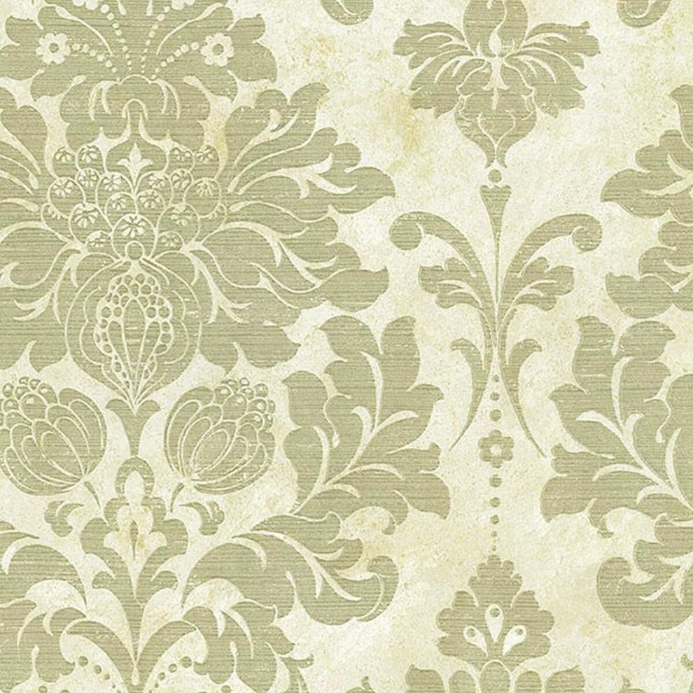 Silk Impressions 2 Contemporary Floral Wallpaper Contemporary