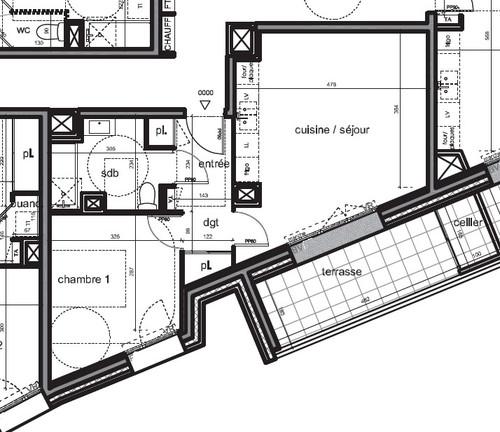 besoin de conseils sur l 39 am nagement de mon t2. Black Bedroom Furniture Sets. Home Design Ideas