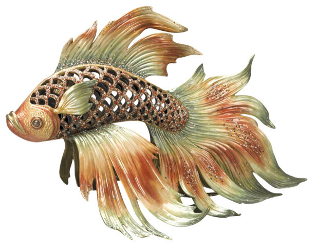 Jay strongwater namiko japanese fighting fish for Japanese fighter fish