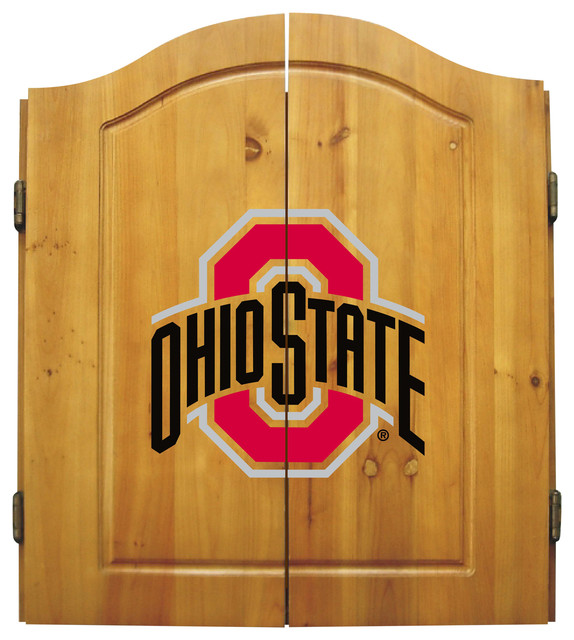Ohio State Dart Cabinet - Transitional - Darts And Dartboards - by ...