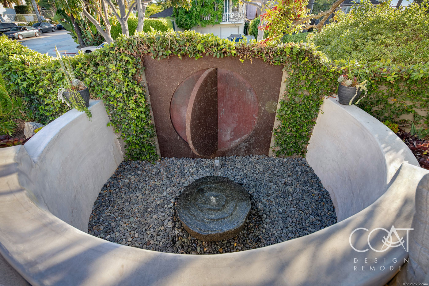 Water Feature and Art Sculpture
