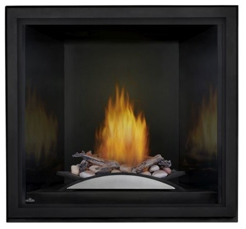 Starfire Liquid Propane Fireplace, Fire Cradle, Premium Barrier, Bl Prp Liner.